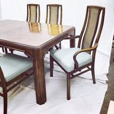 Drexel Dining Room Table 6 Drexel Mid Century Modern Cane Back Dining Chairs Furniture