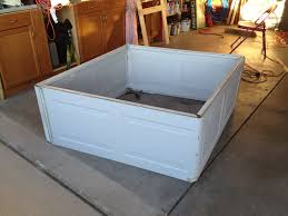 Wilmington Overhead Door by This Is A Raised Garden Bed From A Recycled Garage Door It Was An