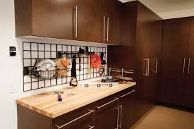 Woodworking Garage Cabinets Flooring Overhead Shelves Top The Trends In Garage Organization
