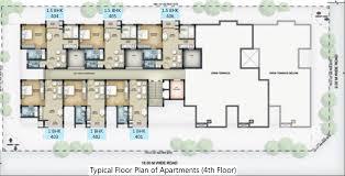 senior housing floor plans 1 2 bhk cluster plan image serene senior living hub apartments