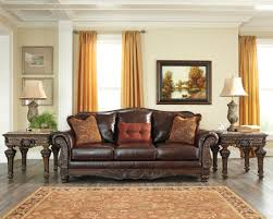 Ashley Furniture Living Room Sets North Shore Dark Brown Living Room Set Signature Design By Ashley