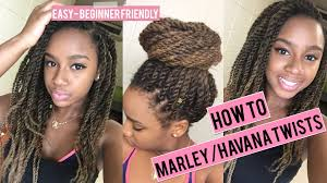 how many packs of marley hair for havana twist how to do havana marley twists super easy tutorial invisible