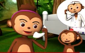No More Monkeys Jumping On The Bed Song Five Little Monkeys Nursery Android Apps On Google Play