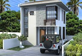 two storey house two storey single side attached house at sola plains talamban