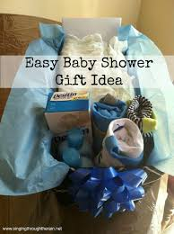 Perfect Gift For Baby Shower Easy Baby Shower Gift Idea Babyshower Baby Baby And Easy