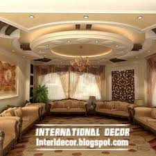 The  Best Gypsum Ceiling Ideas On Pinterest False Ceiling - Designs for ceiling of living room
