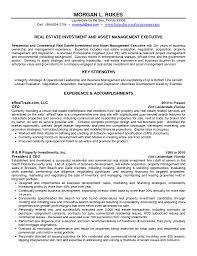 real estate resume templates 60 property manager resume stunning real estate investor real