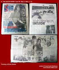 schizo u0027s eraserheads database press