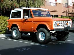 ford bronco 1974 ford bronco picture exterior bronco