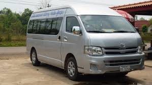 toyota hiace vip transportation between vang vieng and vientiane tours laos laos