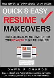 quick u0026 easy resume makeovers boost your resume and cover letter