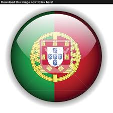 Portugal Football Flag Portugal Flag Button Vector Vector Yayimages Com