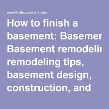 How Much Does It Cost To Refinish A Basement by Best 25 Foundation Repair Cost Ideas On Pinterest Build Your