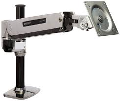 com ergotron lx hd sit stand desk mount lcd arm mounting kit computers accessories