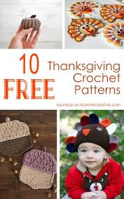 10 free thanksgiving crochet patterns illumine creative