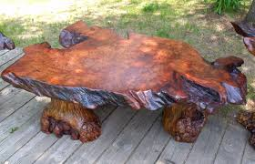 coffee table tree trunk table this could be cool with my glass i