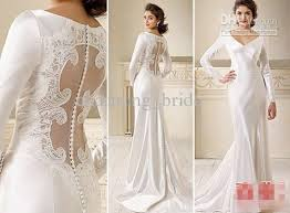 wedding dress for sale hot sale v neck wedding dresses steeve charmeuse see through