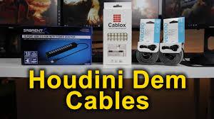 desk cable management usb hub velcro cablox ftw youtube
