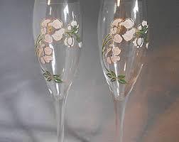 vintage champagne glasses etsy