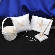 guest book and pen set themed ring pillow flower basket guest book and pen set in ivory