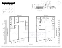 luxury townhome floor plans paramount bay condos 2020 n bayshore drive miami fl 33137