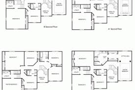 4 bedroom 2 story house plans 40 blueprints for houses with 2 story open floor plans 4 bedroom