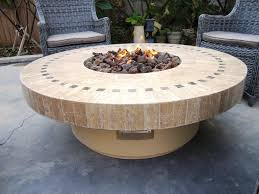 outdoor fire pit table propane u2014 jen u0026 joes design best outdoor