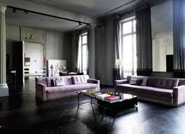 Black Laminate Wood Flooring Living Room Shabby Living Room With White Furnishings On