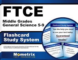 ftce middle grades general science 5 9 flashcard study system