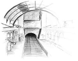 sketches of the london underground