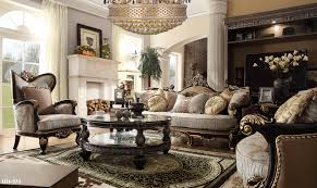European Living Room Furniture Homey Design Hd 551 Luxury Fabric Living Set Usa Warehouse Furniture