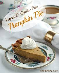grain free pumpkin pie vegan sugar free candida friendly paleo