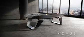contemporary pool table lights exquisite modern billiard table in pool yanko design writers bloc