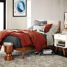 modern bed linen weave west elm au