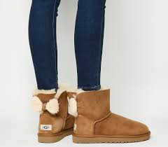 ugg boots sale eu ugg arielle bow boots chestnut ankle boots