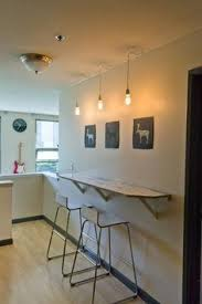 Kitchen Design For Small Apartment by Best 10 Wall Bar Ideas On Pinterest Small Bar Areas Basement