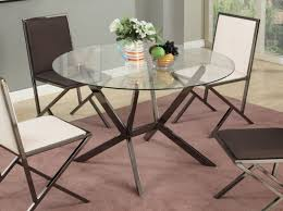 Dining Room Furniture Mississauga Furniture Stunning Contemporary Beveled Edge Round Modern Glass