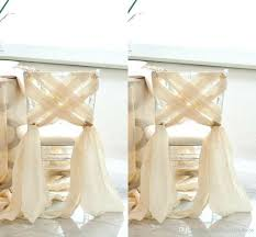 chair sash simple wedding 2016 new chiffon chair sash custom