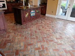 Brick Floor Kitchen by Brick Tile Floors Google Search Floors Pinterest Brick