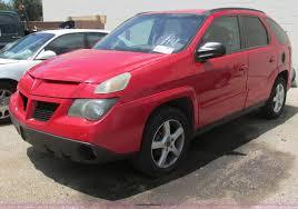 2004 pontiac aztek suv item i9638 sold june 16 city of