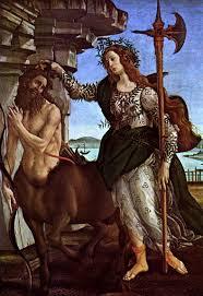 sandro botticelli minerva and centaur tags minerva pallas
