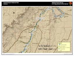 Colorado River Map gcpba interactive river and campsite atlas grand canyon private