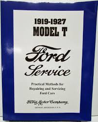 1920 1921 1922 1923 1924 1925 1926 1927 ford model t shop manual