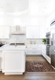 Bright White Kitchen Cabinets After Falling In Love While Traveling In Europe It U0027s No Surprise