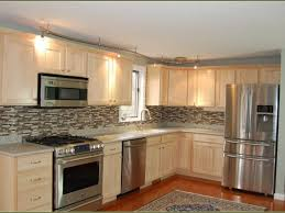 Stock Unfinished Kitchen Cabinets Winsome Kitchen Project Source In W X H Unfinished Door Lowes