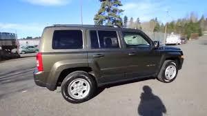 dark green jeep patriot 2015 jeep patriot sport eco green fd264664 redmond seattle