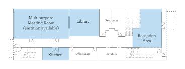 Floor Plan Of Auditorium Private Events Commonwealth Club