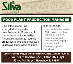 production manager resume cover letter food production manager cover letter