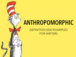 anthropomorphism definition and examples