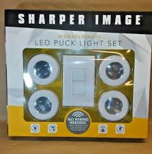 sharper image wireless remote led puck lights sharper image wireless for sale classifieds